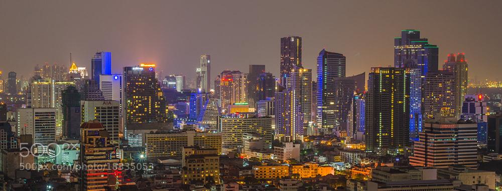 Photograph Bangkok in night by Poom Jantarachart on 500px
