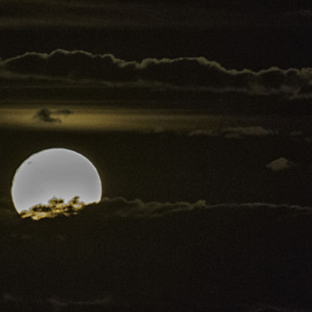 Supermoon in Sydney, Canon EOS-1D MARK IV, Canon EF 400mm f/2.8L IS II USM