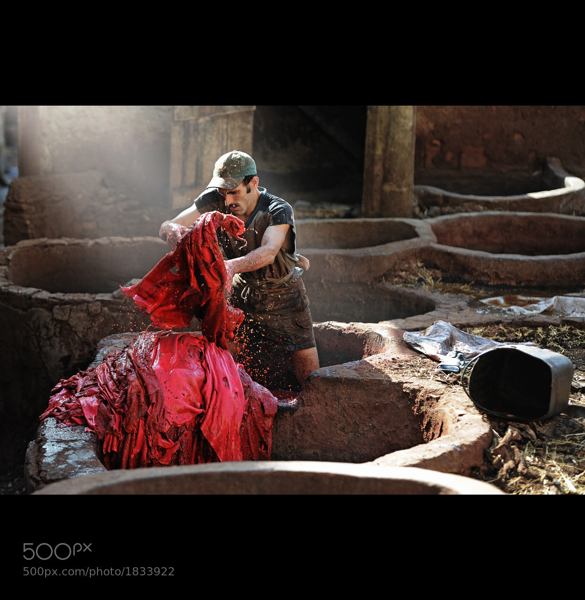 Photograph Tannery  in Fes by John Quintero on 500px