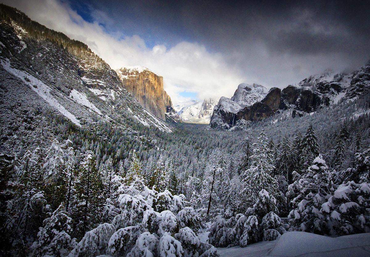 Photograph Tunnel View On A Winter's Day by William McIntosh on 500px