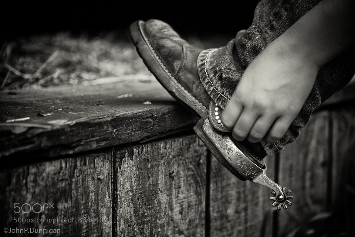 Photograph boot & spur by John Dunnigan on 500px