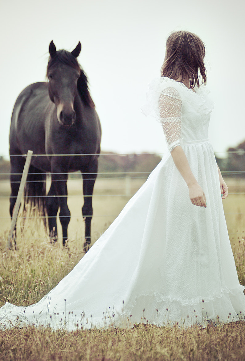 Photograph A Girl And A Horse by Kate Dreyer on 500px