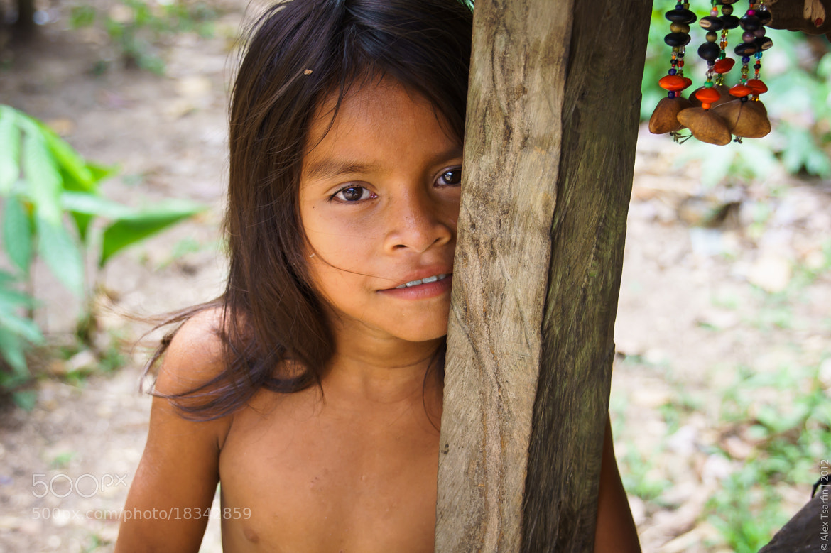 Photograph Yagua Little Girl by Alex Tsarfin on 500px