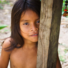 Yagua Little Girl by Alex Tsarfin (alex_tsarfin)) on 500px.com