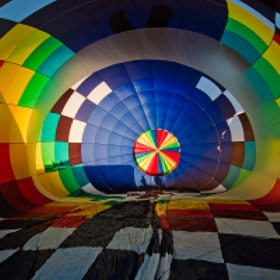 Geometry of balloon's intestines by B [R]asulev (skydream) on 500px.com