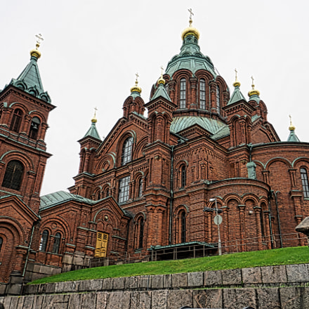 uspenskin cathedral_finland, Sony ILCE-7RM2, Sony E 10-18mm F4 OSS