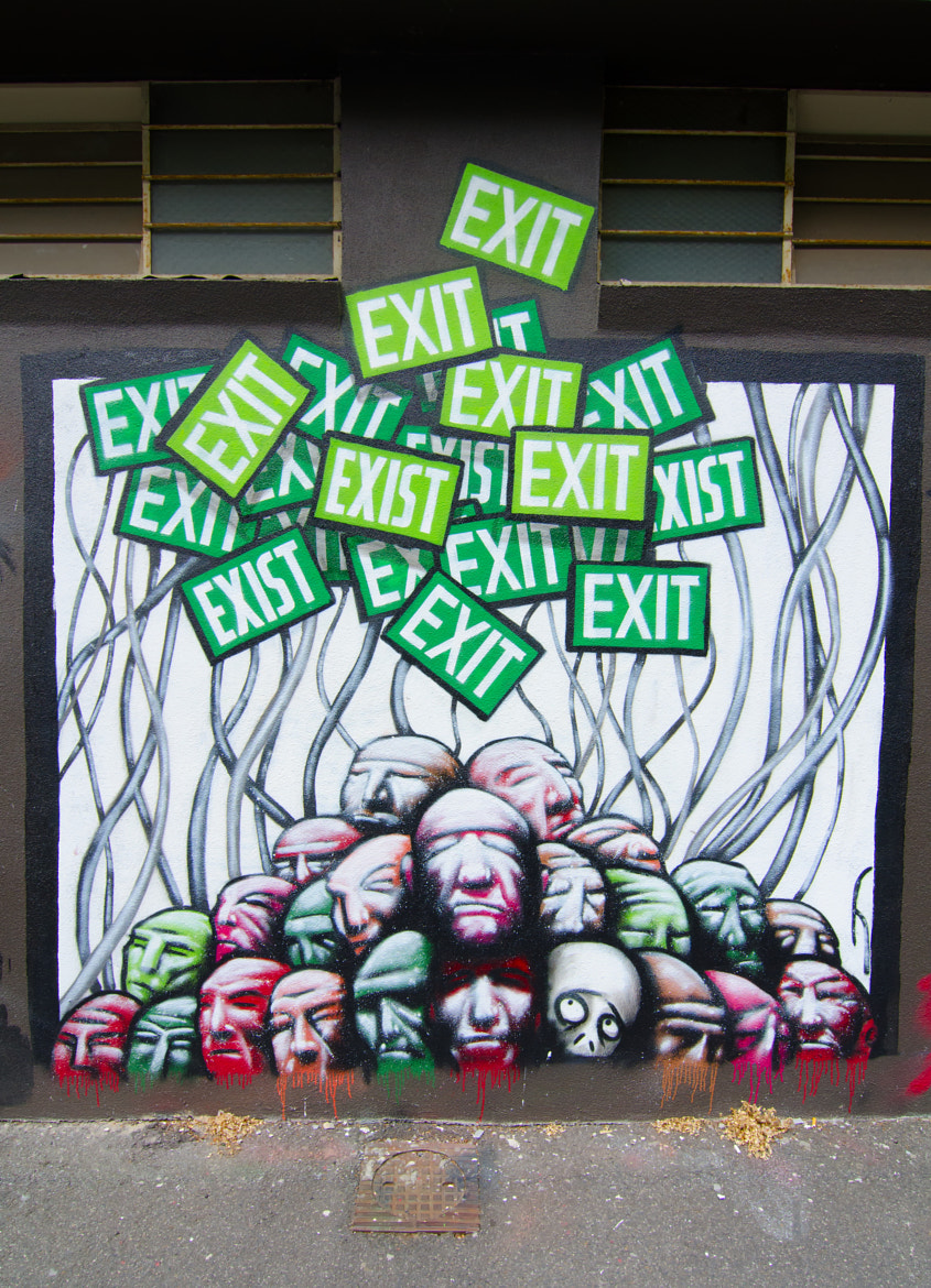 Photograph Exit/Exist by Thomas J Hunt on 500px
