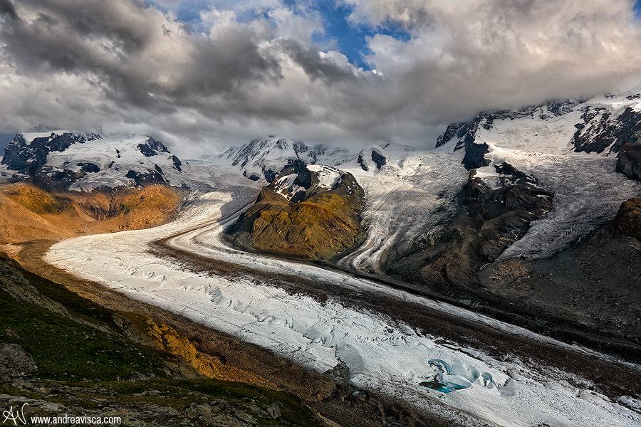 Photograph Ice road by Andrea Visca on 500px
