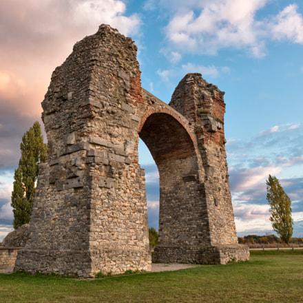 Roman's Arch close to Carnuntum