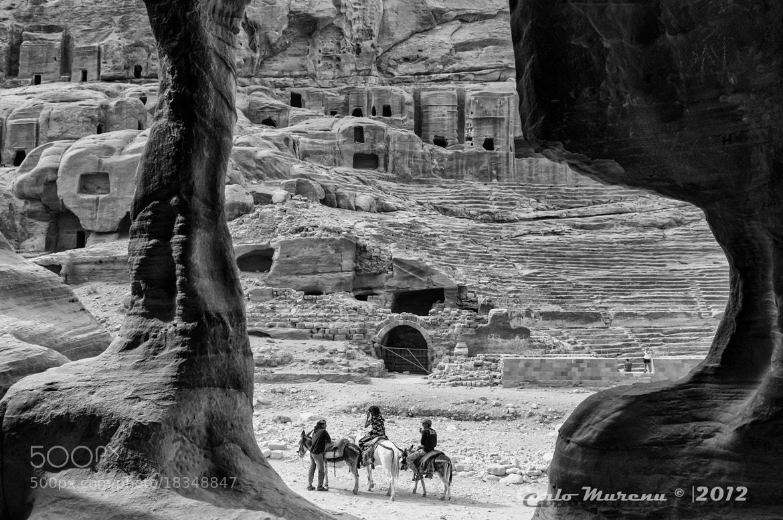Photograph Petra's house by Carlo Murenu on 500px