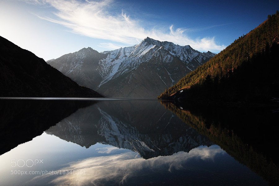 Photograph Mirror of the sacred lake. by Dementievskiy Ivan on 500px