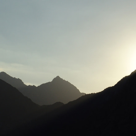 Old mountains, Sony DSC-F828