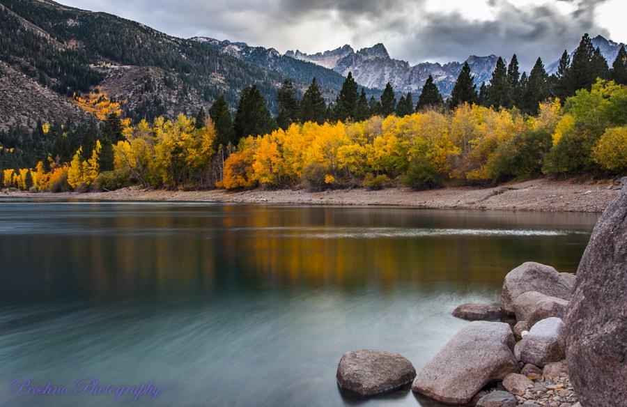 Surreal Twin Lakes