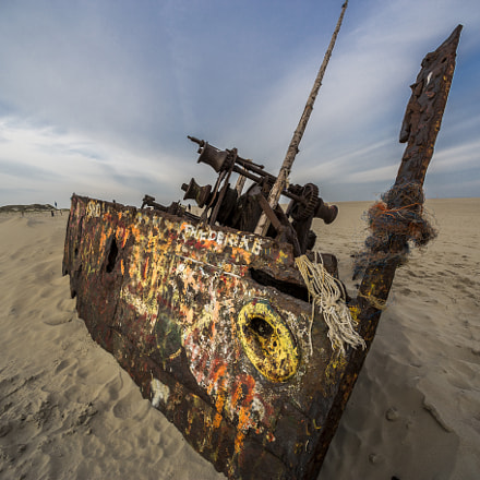 Wreck Norderney, Canon EOS 6D, Canon EF 14mm f/2.8L