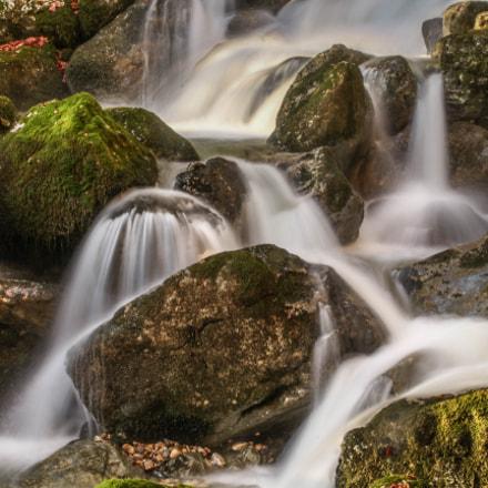 Doriaz waterfall