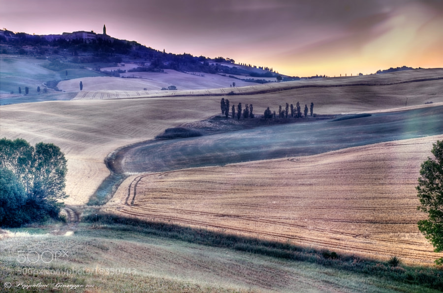 Photograph The colors of dawn ♥ by Giuseppe  Peppoloni on 500px