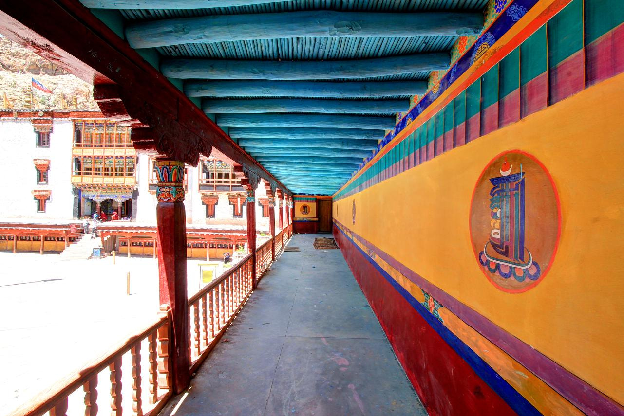 Photograph Hemis Courtyard by Dhritiman Lahiri on 500px