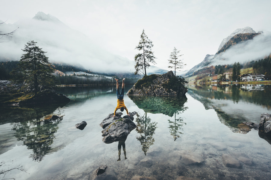 Athletic in the mountains de Johannes Hulsch sur 500px.com