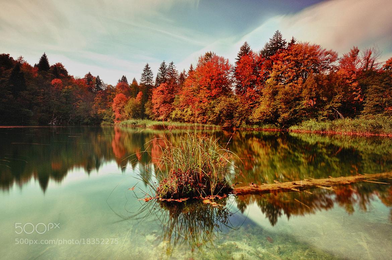 Photograph Autumn Mirror by Csilla Zelko on 500px