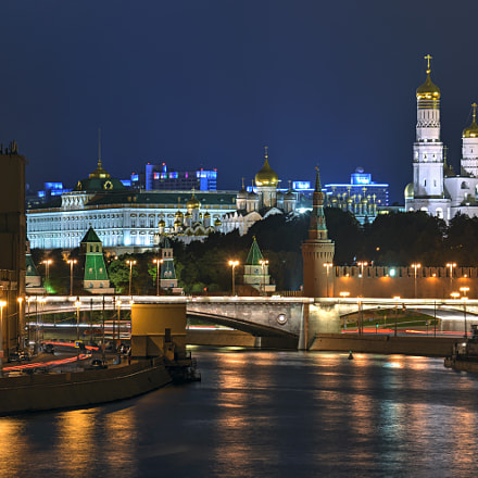 View of Moscow at, Nikon D600, Sigma 70-300mm F4-5.6 DG OS