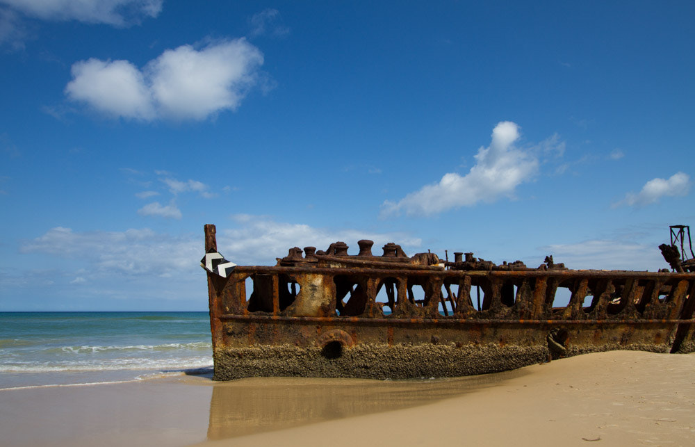 Photograph Maheno Shipwrack on Fraser Island by Hans Fischer on 500px