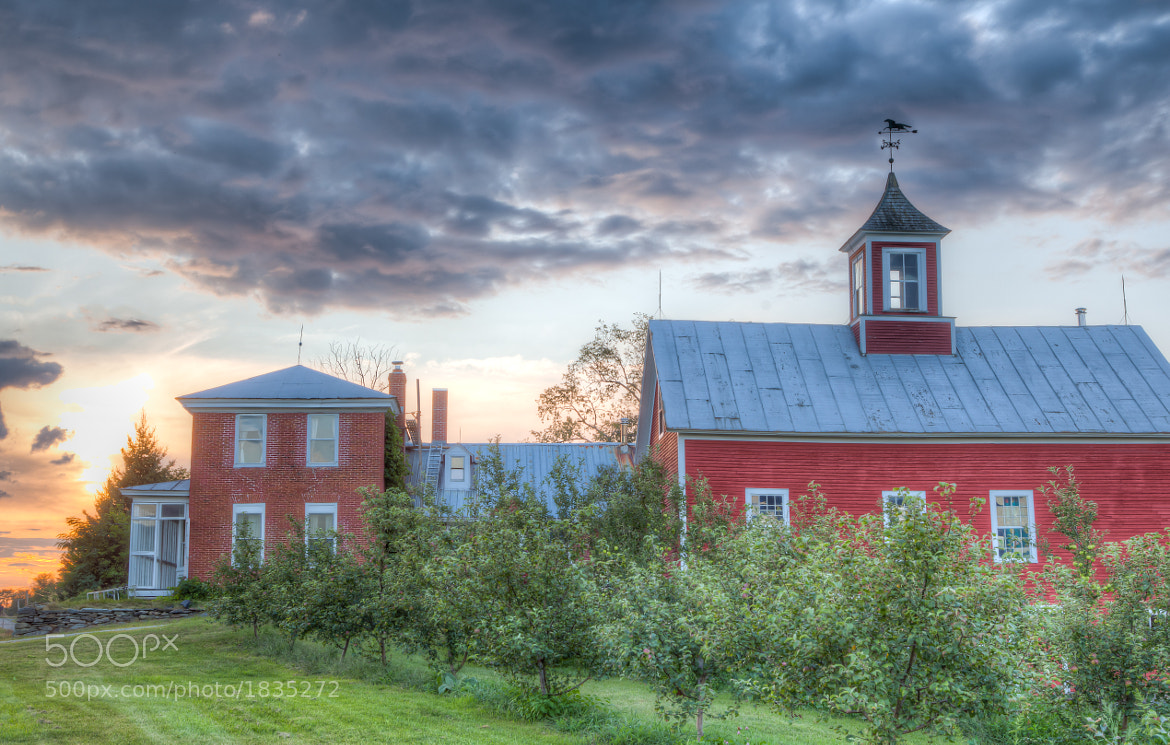 Photograph House and Barn, Jeffersonville, Vermont. by Stanton Champion on 500px