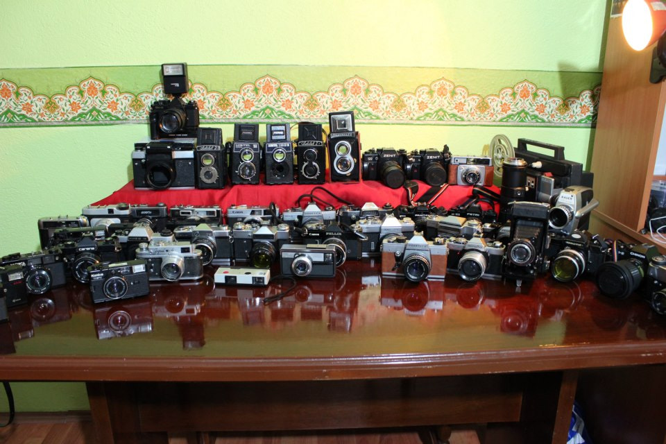 Photograph My Camera Collection by Murat ŞAHİN on 500px