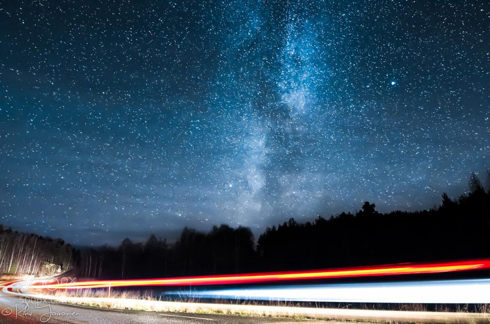 Photograph Lightning Road by Riku Toivonen on 500px
