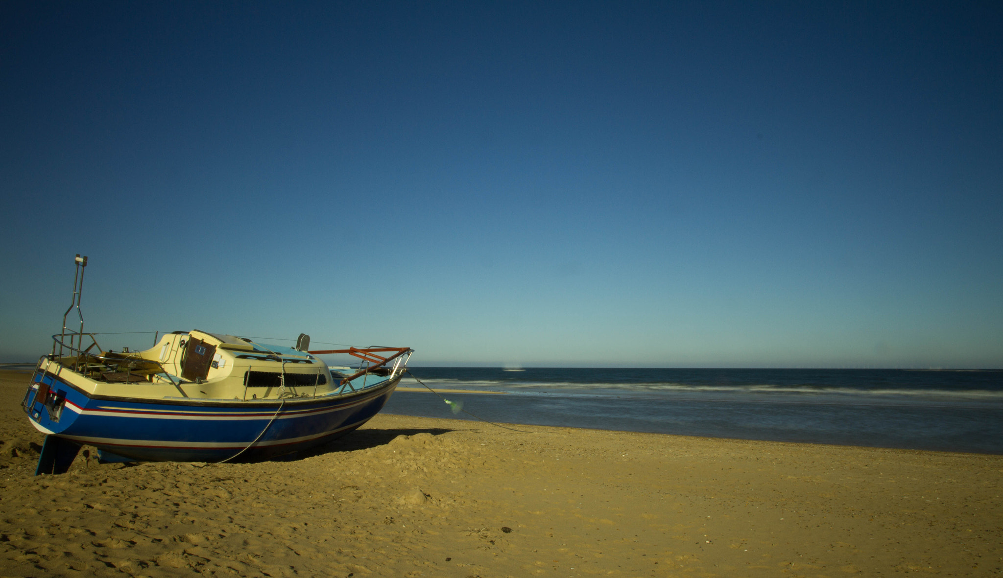 Photograph Beached Boat by Richard Youden on 500px