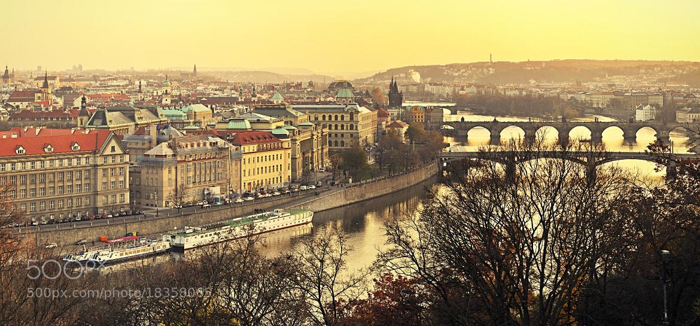 Photograph Prague autumn by Petr Cihlář on 500px