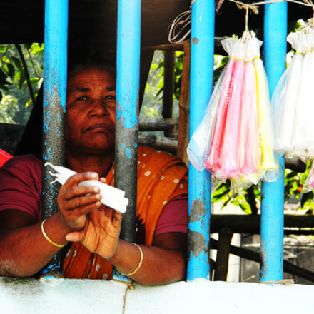 || the candle seller || , Nikon COOLPIX L120