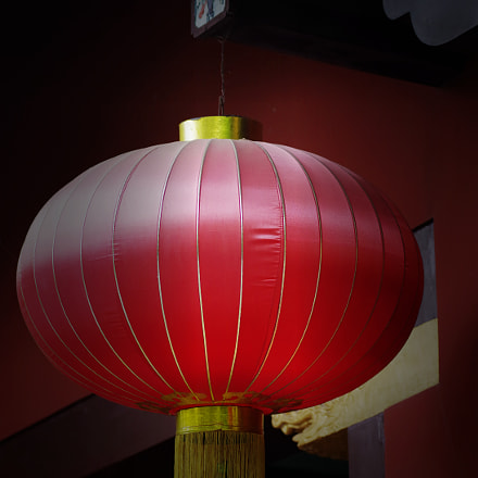 Red lantern, RICOH PENTAX 645Z, smc PENTAX-FA645 150-300mm F5.6 ED [IF]
