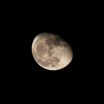 Super moon., Canon EOS 550D, Tamron 18-250mm f/3.5-6.3 Di II LD Aspherical [IF] Macro