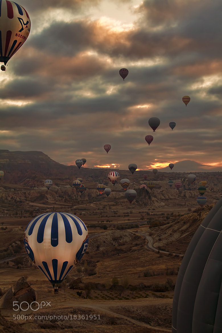 Photograph Dawn Ballooning over Cappadocia 7 by Andrew Barrow LRPS on 500px