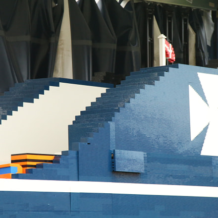 Worlds Largest Lego Ship, Canon EOS 70D, Sigma 18-125mm f/3.8-5.6 DC OS HSM