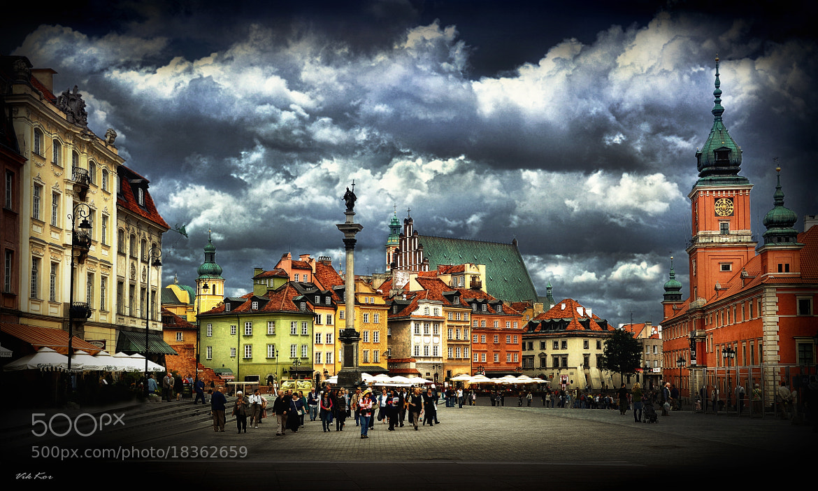 Photograph Castle Square, Warsaw by Viktor Korostynski on 500px