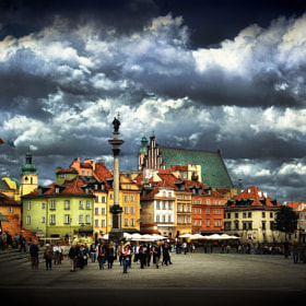Castle Square, Warsaw by Viktor Korostynski (vikkor)) on 500px.com