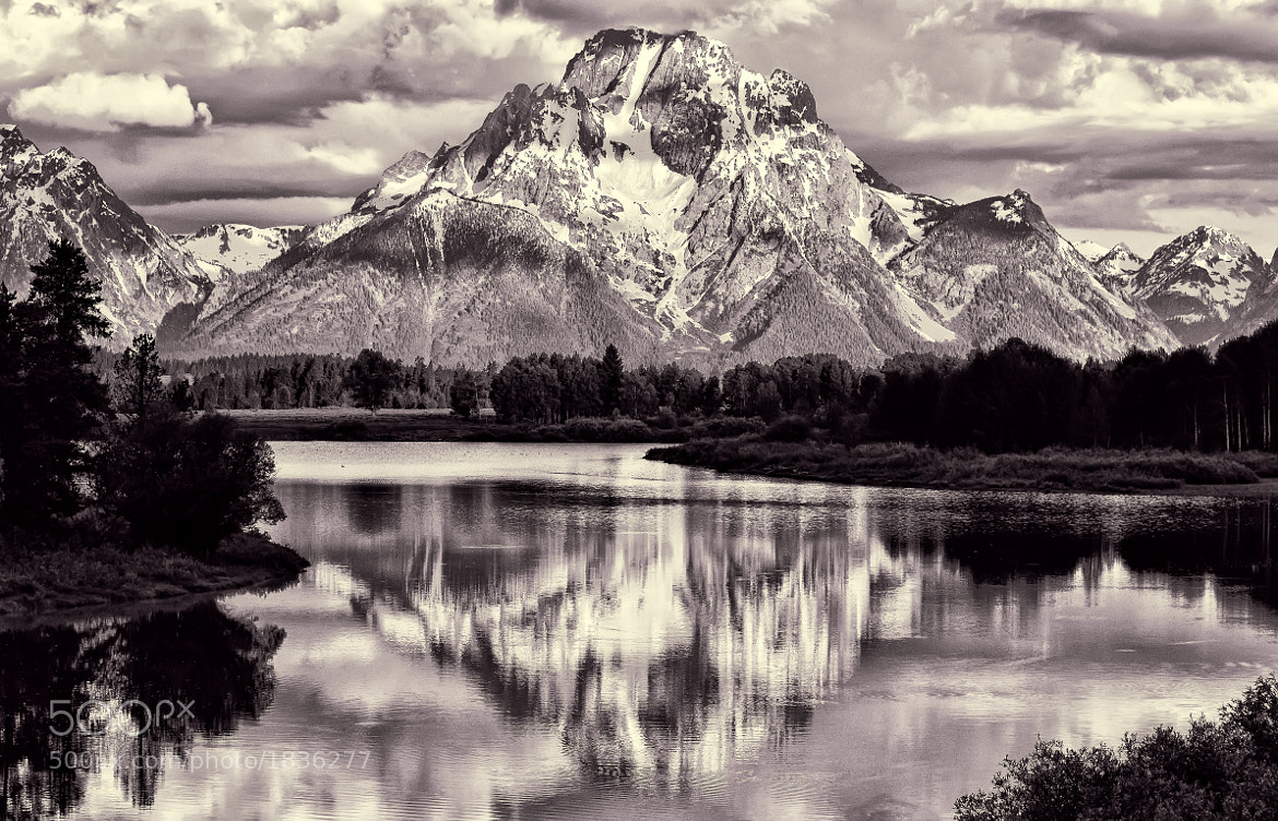 Photograph Timeless Mount Moran by Jeff Clow on 500px