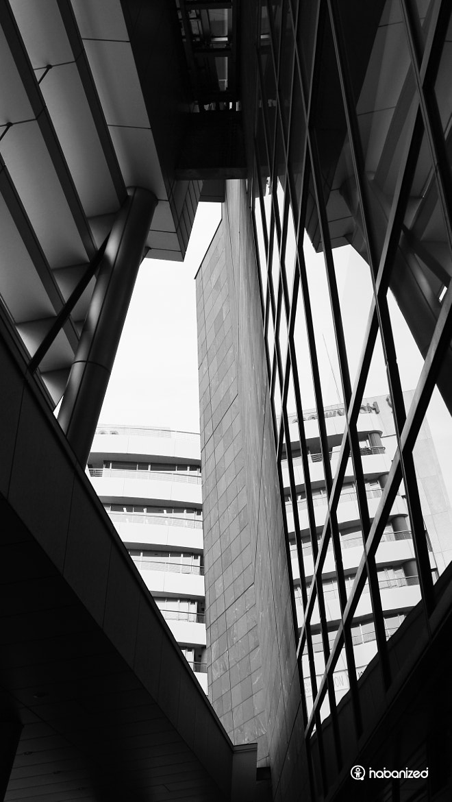 Photograph Stone, Steel, Glass & Sky by Eugene W on 500px