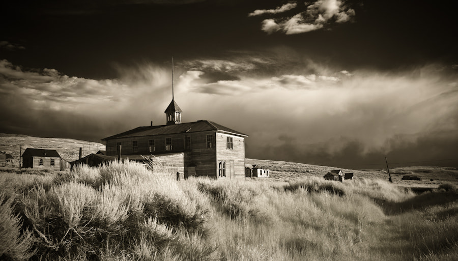 Photograph Bodie Schoolhouse by Patti Schulze on 500px