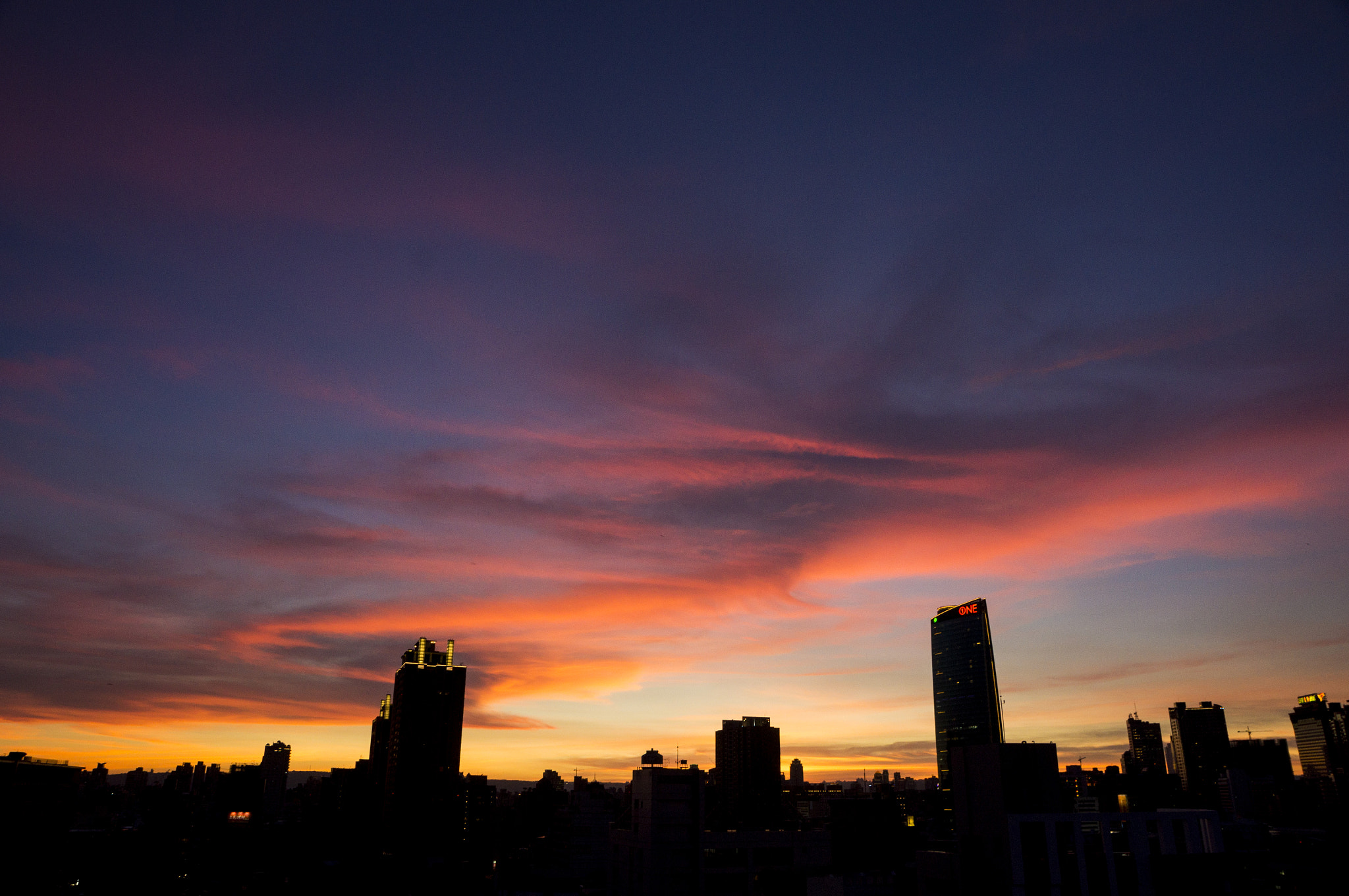 Photograph Sunset at Taichung City by Red Bean Liu on 500px