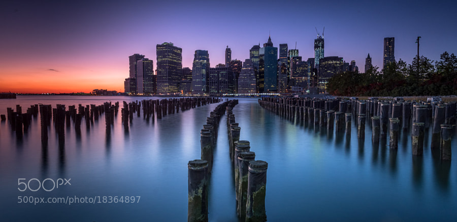 Photograph Pier, Brooklyn Bridge Park by Ajit Menon on 500px