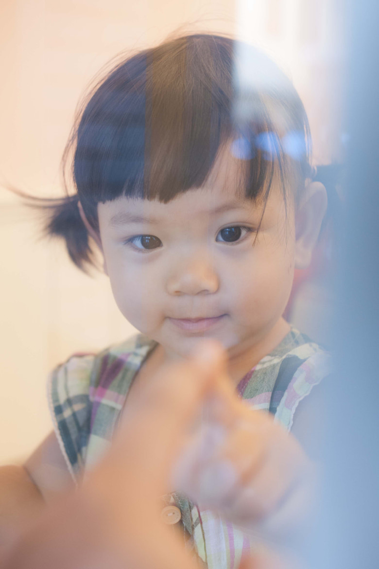 Photograph Daughter of my friend by Red Bean Liu on 500px