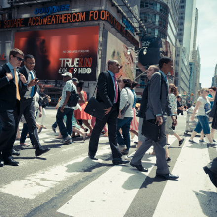 Busy streets, Sony DSLR-A580, Tamron SP AF 17-35mm F2.8-4 Di LD Aspherical IF