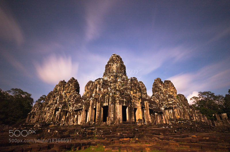 Photograph Another Side of Bayon Temple ;) by Mardy Suong Photography on 500px