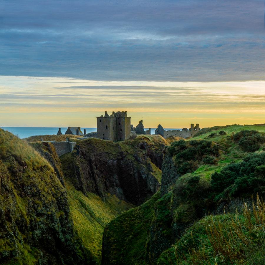 Dunnottar Castle Dawn by Ralph Ehoff on 500px.com