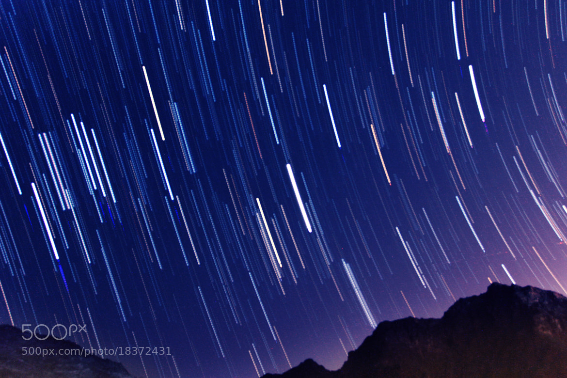 Photograph Star Trails by Hitesh Assudani on 500px