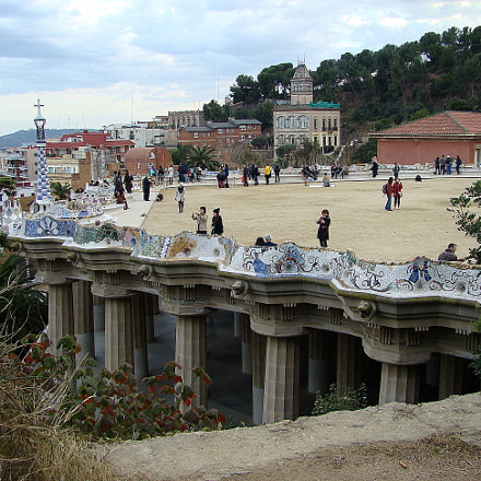Park Guell, Sony DSC-H9
