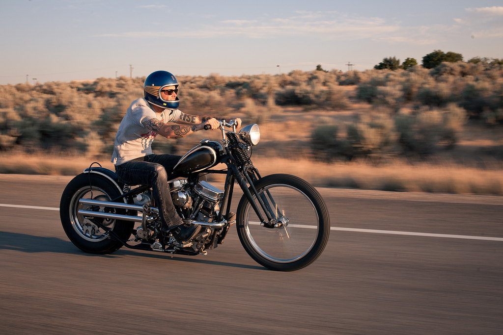 Photograph 1959 Panhead by Sara K Byrne on 500px