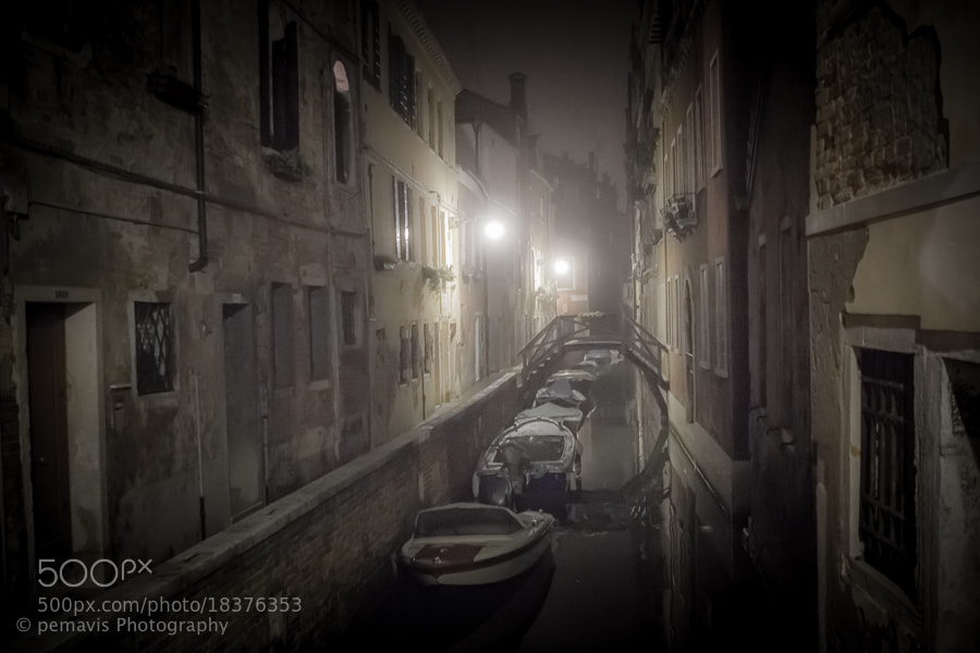 Photograph foggy nights in venice II by Pe Ka on 500px